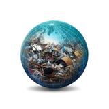 Recycleer conceptenillustratie Royalty-vrije Stock Foto