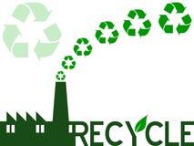 Recycleer de Industrie Royalty-vrije Stock Foto