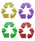 Recycleer Document vector illustratie