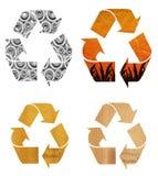 Recycleer Document stock illustratie