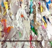 Recycleer document Royalty-vrije Stock Foto