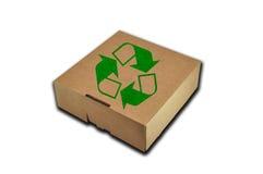 Recycleer doos Stock Foto's