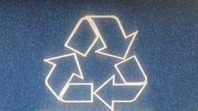 Recycleer Embleem Royalty-vrije Stock Fotografie