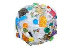 Recycleer gebied Stock Foto's
