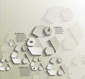 Recycleer het ontwerp van symboolinfographics Royalty-vrije Stock Afbeelding