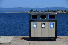 Recycleer of huisvuil royalty-vrije stock fotografie