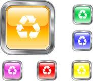 Recycleer Knoop Stock Foto's