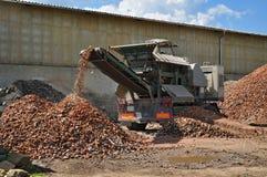 Recycleer machine Royalty-vrije Stock Fotografie