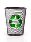 Recycleer mand Stock Foto's