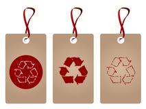 Recycleer markeringen Stock Fotografie