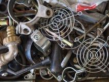 Recycleer metaal Royalty-vrije Stock Afbeelding