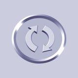 Recycleer pictogram Stock Foto's