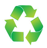 Recycleer Pictogram Stock Afbeeldingen