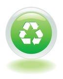 Recycleer pictogram royalty-vrije illustratie