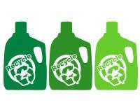 Recycleer plastiek Stock Afbeelding