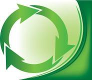 Recycleer signaal stock illustratie