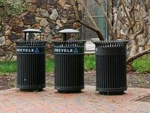 Recycleer, recycleer, recycleer sparen de Wereld royalty-vrije stock afbeeldingen