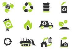 Recycleer Symbolen Stock Afbeelding