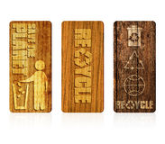 Recycleer symbool Stock Fotografie