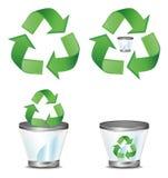 Recycleer symbool Royalty-vrije Stock Foto's