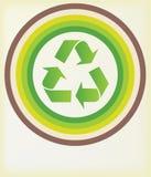 Recycleer symbool Royalty-vrije Stock Afbeeldingen