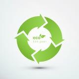 Recycleer Symbool royalty-vrije illustratie