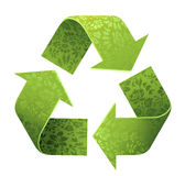 Recycleer teken Royalty-vrije Stock Foto