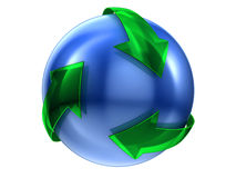 Recycleer teken Royalty-vrije Stock Afbeelding