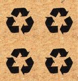 Recycleer Teken Stock Afbeelding