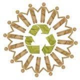 Recycleer teken Royalty-vrije Stock Fotografie
