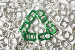 Recycleer teken van groen sodalusje Royalty-vrije Stock Afbeelding