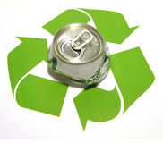 Recycleer Thema stock afbeelding