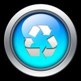 Recycleer of verfris pictogram Stock Foto