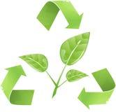 Recycleer voor Aard Royalty-vrije Stock Fotografie