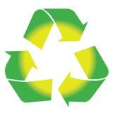Recycleer wereld royalty-vrije stock foto's