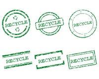 Recycleer zegels Stock Afbeeldingen