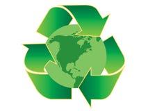 Recyclerend Amerika Royalty-vrije Stock Fotografie