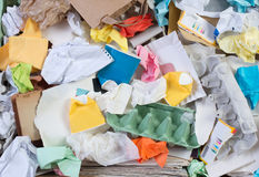 Recyclerend document Royalty-vrije Stock Afbeeldingen
