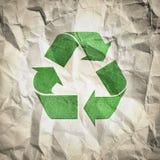 Recyclerend document royalty-vrije illustratie