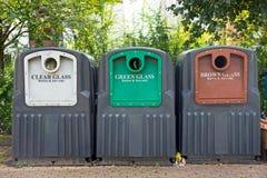 Recyclerend glas Stock Afbeeldingen