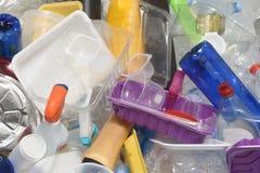 Recyclerend Plastiek Stock Afbeelding