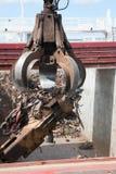 Recyclerend staal royalty-vrije stock fotografie