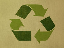 Recyclerend symbool Stock Foto's