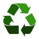Recyclerend symbool Stock Afbeeldingen