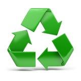 Recyclerend symbool Royalty-vrije Stock Foto's