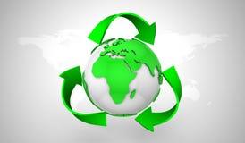 Recyclerend Symbool stock illustratie