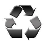 Recyclerend symbool Royalty-vrije Stock Fotografie