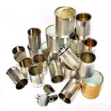 Recyclerend tin Royalty-vrije Stock Fotografie