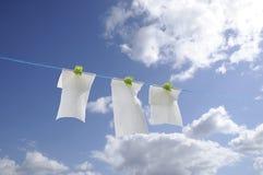 Recyclerend toiletpapier Stock Foto's