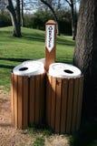 Recyclerende Bakken Stock Foto's